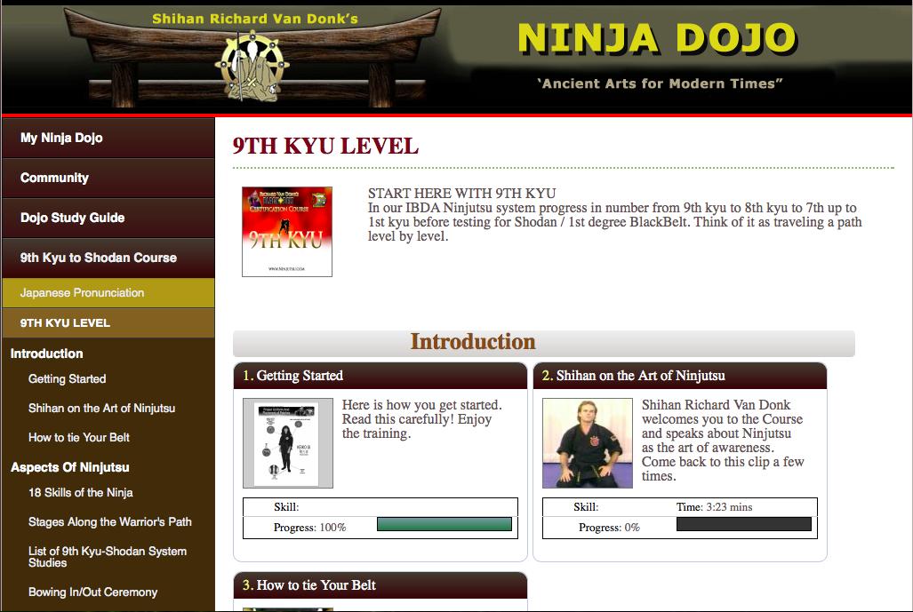 learn ninjutsu at home pdf